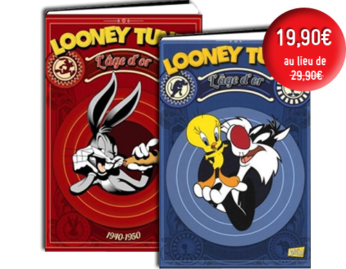 Looney Tunes - 2 volumes - Seulement 19,90€ !